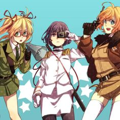 Fem! America, Fem! Japan, and Fem! Germany