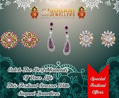 Complete your look at this festival season with our stylish range of jewellery . From bracelets to earrings, necklace to bangles many more you'll find the perfect piece at soganijewellers4u.com. Grab the Festival Offers. Visit- Sogani Jewellers  C-19, Vaishali Marg, Vaishali Nagar Jaipur. Call- +919799809156, 0141-4024656. Shop Online- www.soganijewellers4u.com #24 #Hours #Dispatch (Delivery 5 to 7 Days) #Cash #On #Delivery #Available #Easy 30 #Days #Return