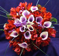Purple Dragon Fly adorns this Brides Bouquet Wedding 2015, Wedding Bride, Bride Bouquets, Brides, Floral Wreath, Dragon, Wreaths, Purple, Plants