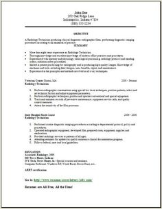 X Ray Resume Templates #resume #ResumeTemplates #templates