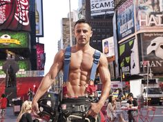 The Fire Department of New York - we salute their bravery. This shot is from their latest calender - why not treat yourself and support a great cause?