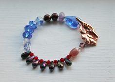 Armbånd med ulike perler Swarovski, Perler, Beaded Bracelets, Jewelry, Fashion, Jewellery Making, Moda, Jewerly, Jewelery
