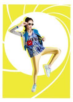 Model: Vien/POSH for BUTIK MUSIK MAGAZINE  #model #posh #fashion #spread #boutique  #music #magazine