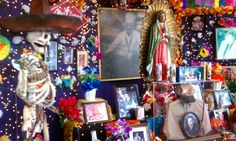 Rich in Mexican culture, San Antonio celebrates Dia De Los Muertos in Market Square on the first weekend of November