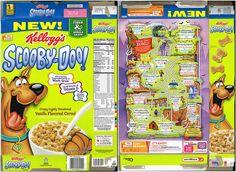 2013 Scooby Doo Cereal