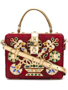 Shop Dolce & Gabbana embellished cross-body bag  in Stefania Mode from the world's best independent boutiques at farfetch.com. Shop 300 boutiques at one address.
