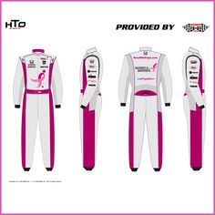 Preview of the #SusanGKomen pink race suit for the campaign to raise funding and awareness this May via Instagram! || #IndyCar #Indy500 #PippaGoesPink