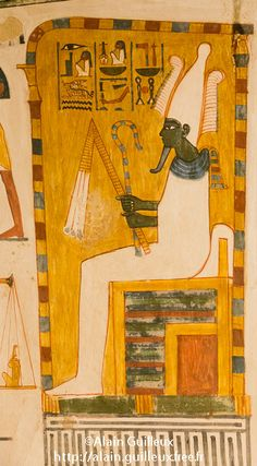 Osiris from the Menna Tomb