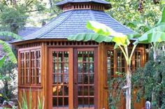 Outdoor Screened Gazebo | ... Prefabricated Gazebo Kits, Outdoor Garden Gazebos, Patio & Screened
