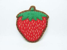 Strawberry - wearable fruits