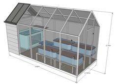 "home greenhouse aquaponics | C4 ""home of the future"" 