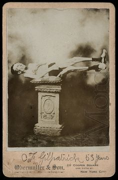 Petrified Man, 1905 | Flickr - Photo Sharing!