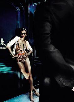 Joan Smalls by Mario Testino for Vogue Brasil June 2013  ♥  ♥ ✿ Ophelia Ryan✿♥