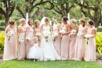 pretty bridesmaids colors