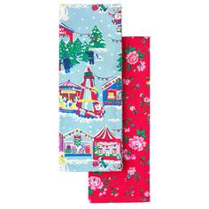 Set of 2 Merry Christmas Tea Towels | Cooking and Dining | CathKidston