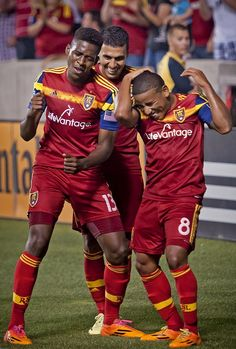 The return of Goalmes!  Garcia notches the brace to lift RSL 3-1 over Montreal.