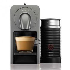 Nespresso Prodigio avec mousseur titan