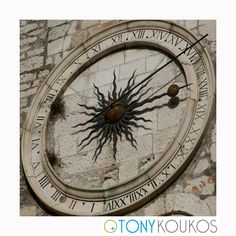 clock, clock hands, instrument, roman numerals, time, stone, masonry, imperial sun, wall, brick, architecture