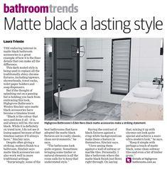 Featured in Australian publication - Blacktown Advocate Pepper Tree, Bathroom Inspo, Dream Bathrooms, Red Berries, Bathroom Fixtures, Shower Heads, Bathroom Accessories, Toilet Paper, Green And Grey