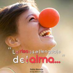 La #Risa es el lenguaje del #Alma... #Citas #Frases @Candidman