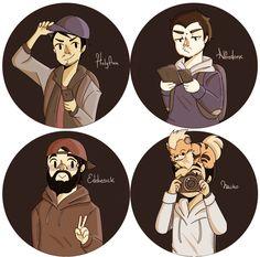 Nicolás, Jaime, Edgar y Naiko [Jaidefinichon GOTH] | Idecebalcuza