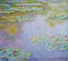 "Claude Monet ""Water Lilies, 1907"""