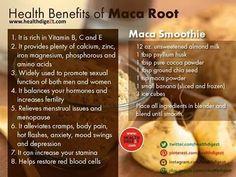 Health benefits of Maca root - Tea benefits chart - Cacao Benefits, Tea Benefits, Health Benefits, Benefits Of Maca Powder, Good Multivitamin For Women, Best Multivitamin, Health And Wellbeing, Health And Nutrition, Women's Health