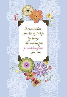 Wonderful Granddaughter Birthday Card Large Cards For Her Its Your
