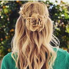 #FühldichwiepurerLuxus || hairpower meets flowerpower #hair #styles #long #curly #black #tutorial #beach #short #updo #ombre #medium #blonde #brown #growth #extensions #bridal #color #cut #waves #dos #pastel #boho #summer #buns #cute #care #mask #thin #bows #DIY # #easy #dyed #braid #ideas #wedding #tips #natural #wavy #messy #vintage #prom © to @hair.style