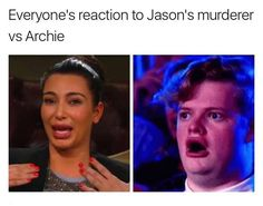 Read 8.8 from the story Riverdale Memes (Book 3) by bugheadthefirst with 111 reads. bughead, jarchie, kjapa.