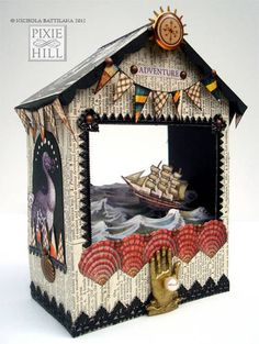September 2012: Did you see this? Some great projects from the Papercraft board! - PAPER CRAFTS, SCRAPBOOKING & ATCs (ARTIST TRADING CARDS)