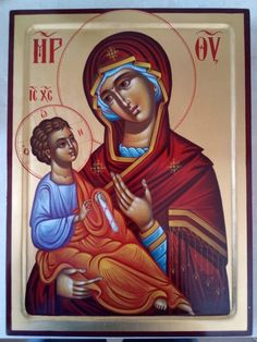 Mother of God,Virgin and child,Orthodox icon,hand gold Inspirational Bible Quotes, Byzantine Icons, Orthodox Christianity, Unique Birthday Gifts, Catholic Art, Orthodox Icons, Special Gifts, Hand Painted, Drawings