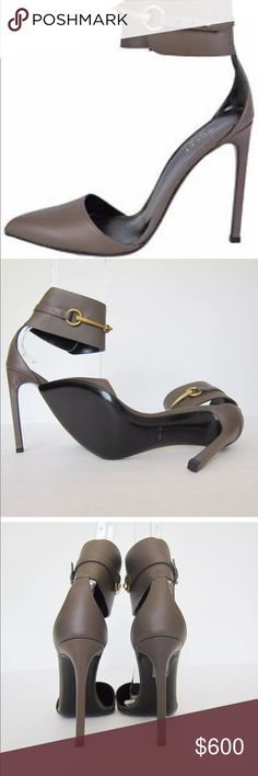 NWT Authentic Gucci Lifford Ursula Heels Gorgeous Ursula Gucci heels! Absolutely sexy and gorgeous heels in a taupe brown color perfect for year round. size 38.5. Gucci Shoes Heels
