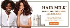 HAIR MILK. Simple, Perfect & Curls. All the time...SHOP NOW  http://yespricer.com/carols-daughters/