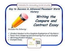 How do you write a thesis statement for a AP World History DBQ essay?