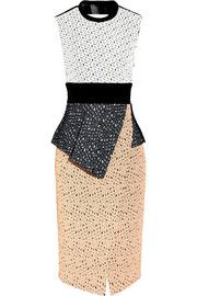 Proenza Schouler Embroidered laser-cut lace dress