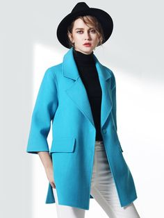 Mẫu áo khoác dạ nữ sang trọng mà bạn cần có