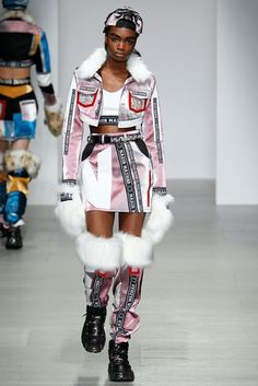 See all the Collection photos from Nasir Mazhar Autumn/Winter 2014 Ready-To-Wear now on British Vogue Couture Fashion, Runway Fashion, High Fashion, Winter Fashion, Fashion Show, Fashion Outfits, Womens Fashion, Fashion Trends, Wrap Tops