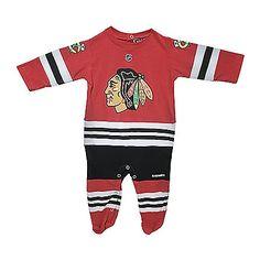 Chicago Blackhawks Infant Uniform Onesie... omfg i want