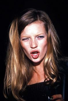 even lil Kate Moss looks ratchet sometimes