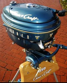 The finest antique outboard motors available Rc Boot, Chris Craft Boats, Outboard Boat Motors, Boat Restoration, Classic Wooden Boats, Boat Engine, Old Boats, Vintage Tractors, Boat Stuff