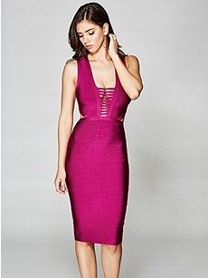 Guess kleid pink