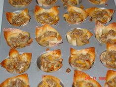 Sausage And Cheese Wontons Recipe - Food.com