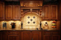 Kitchen. Love the cabinets