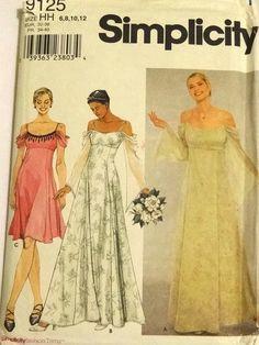 Patron robe de mariee simplicity