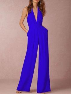 0c64c97c253 Sleeveless Casual Spandex Elegant Jumpsuit. Jumpsuit DressyPlus Size  JumpsuitBackless JumpsuitPant JumpsuitElegant JumpsuitWhite  RomperRompersWide Leg ...