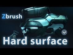 Hard Surface In Zbrush Part 01 - YouTube