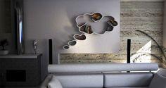 Creativos diseños de muebles y estantes para colocar libros