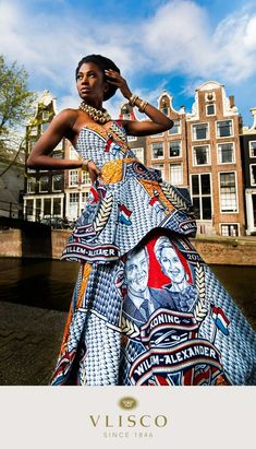 Vlisco african wax fashion #amsterdam #print #editorial