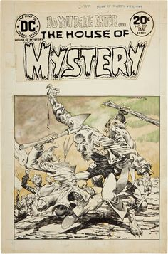cover to House Of Mystery (1951) #231 by Bernie Wrightson